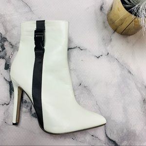 White Heeled Boots